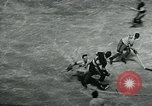 Image of hockey match New York United States USA, 1947, second 9 stock footage video 65675040657