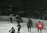 Image of hockey match New York United States USA, 1947, second 19 stock footage video 65675040657