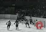 Image of hockey match New York United States USA, 1947, second 20 stock footage video 65675040657