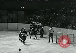 Image of hockey match New York United States USA, 1947, second 21 stock footage video 65675040657