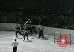 Image of hockey match New York United States USA, 1947, second 22 stock footage video 65675040657
