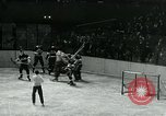 Image of hockey match New York United States USA, 1947, second 23 stock footage video 65675040657