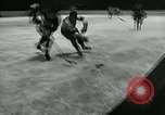 Image of hockey match New York United States USA, 1947, second 33 stock footage video 65675040657