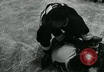 Image of hockey match New York United States USA, 1947, second 35 stock footage video 65675040657