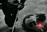 Image of hockey match New York United States USA, 1947, second 36 stock footage video 65675040657