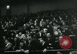 Image of hockey match New York United States USA, 1947, second 46 stock footage video 65675040657