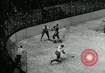 Image of hockey match New York United States USA, 1947, second 52 stock footage video 65675040657