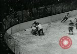 Image of hockey match New York United States USA, 1947, second 54 stock footage video 65675040657