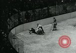 Image of hockey match New York United States USA, 1947, second 55 stock footage video 65675040657
