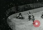 Image of hockey match New York United States USA, 1947, second 59 stock footage video 65675040657
