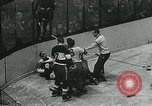 Image of hockey match New York United States USA, 1947, second 61 stock footage video 65675040657