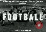Image of Football match United States USA, 1951, second 1 stock footage video 65675040661
