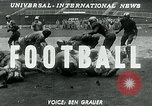 Image of Football match United States USA, 1951, second 2 stock footage video 65675040661