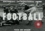 Image of Football match United States USA, 1951, second 4 stock footage video 65675040661