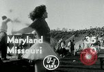 Image of Football match College Park Maryland USA, 1951, second 3 stock footage video 65675040663