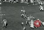 Image of Football match College Park Maryland USA, 1951, second 7 stock footage video 65675040663