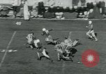 Image of Football match College Park Maryland USA, 1951, second 9 stock footage video 65675040663