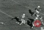 Image of Football match College Park Maryland USA, 1951, second 25 stock footage video 65675040663