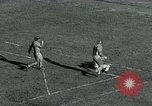 Image of Football match College Park Maryland USA, 1951, second 30 stock footage video 65675040663