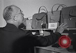 Image of General Eisenhower at German Export Fair Munich Germany, 1946, second 31 stock footage video 65675040667