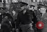 Image of General Eisenhower at displaced persons camp Munich Germany, 1946, second 55 stock footage video 65675040669