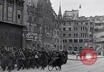 Image of German prisoners Munich Germany, 1945, second 12 stock footage video 65675040675