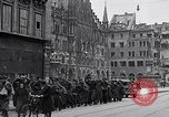 Image of German prisoners Munich Germany, 1945, second 17 stock footage video 65675040675