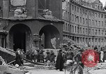 Image of German prisoners Munich Germany, 1945, second 44 stock footage video 65675040675