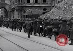 Image of German prisoners Munich Germany, 1945, second 51 stock footage video 65675040675