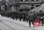 Image of German prisoners Munich Germany, 1945, second 52 stock footage video 65675040675