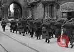 Image of German prisoners Munich Germany, 1945, second 55 stock footage video 65675040675