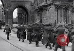Image of German prisoners Munich Germany, 1945, second 56 stock footage video 65675040675