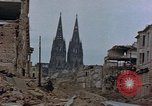 Image of Bomb damage Cologne Germany, 1945, second 43 stock footage video 65675040689
