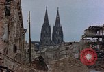 Image of Bomb damage Cologne Germany, 1945, second 46 stock footage video 65675040689