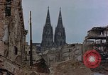 Image of Bomb damage Cologne Germany, 1945, second 51 stock footage video 65675040689