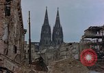 Image of Bomb damage Cologne Germany, 1945, second 57 stock footage video 65675040689