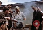 Image of Moosburg POW camp liberated prisoners Moosburg Germany, 1945, second 15 stock footage video 65675040694