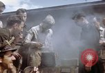 Image of Moosburg POW camp liberated prisoners Moosburg Germany, 1945, second 20 stock footage video 65675040694