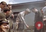 Image of Moosburg POW camp liberated prisoners Moosburg Germany, 1945, second 23 stock footage video 65675040694