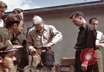 Image of Moosburg POW camp liberated prisoners Moosburg Germany, 1945, second 28 stock footage video 65675040694