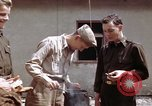 Image of Moosburg POW camp liberated prisoners Moosburg Germany, 1945, second 36 stock footage video 65675040694