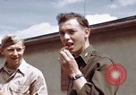 Image of Moosburg POW camp liberated prisoners Moosburg Germany, 1945, second 41 stock footage video 65675040694