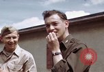 Image of Moosburg POW camp liberated prisoners Moosburg Germany, 1945, second 42 stock footage video 65675040694