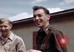 Image of Moosburg POW camp liberated prisoners Moosburg Germany, 1945, second 45 stock footage video 65675040694