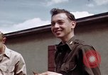Image of Moosburg POW camp liberated prisoners Moosburg Germany, 1945, second 46 stock footage video 65675040694