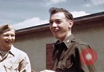 Image of Moosburg POW camp liberated prisoners Moosburg Germany, 1945, second 48 stock footage video 65675040694