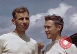 Image of Moosburg POW camp liberated prisoners Moosburg Germany, 1945, second 52 stock footage video 65675040694