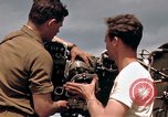 Image of U.S. Army aircraft mechanics Germany, 1945, second 14 stock footage video 65675040696