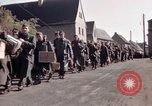 Image of German prisoners under Allied guard in Germany Germany, 1945, second 17 stock footage video 65675040698