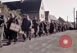 Image of German prisoners under Allied guard in Germany Germany, 1945, second 18 stock footage video 65675040698